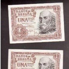 Billetes españoles: BILLETES DE ESPAÑA FRANCO . Lote 88119468