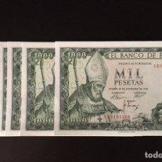 Billetes españoles: 1000 PESETAS 1965 SAN ISIDRO S/C PLANCHA REF 8546. Lote 89847087