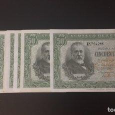 Billetes españoles: 50 PESETAS 1940 PELAYO MUY RARO ESCASO REF 7536. Lote 133173058