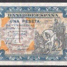 Billetes españoles: 1 PESETA JUNIO 1940 SERIE B S/C. Lote 89433212
