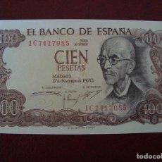 Billetes españoles: BILLETE 100 PTS 1970 MANUEL DE FALLA SIN CIRCULAR. Lote 91194938