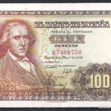 Billetes españoles: 100 PESETAS 1948 SERIE E S/C. Lote 92784530