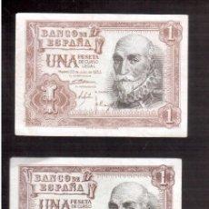Billetes españoles: BILLETES DE ESPAÑA FRANCO. Lote 93390830