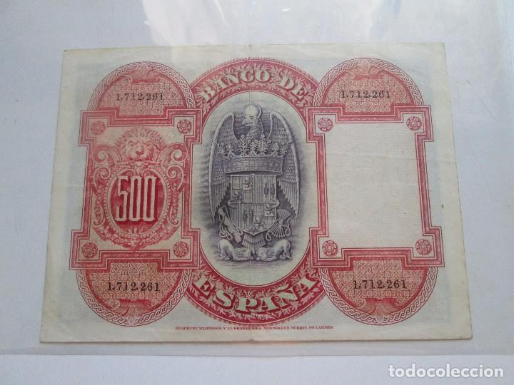 Billetes españoles: BILLETE * 500 PESETAS * 24 DE JULIO DE 1927 * - Foto 2 - 93905650