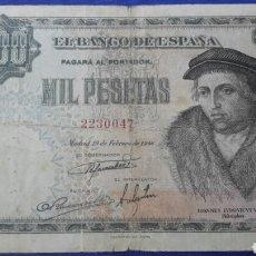 Billetes españoles: 1000 PESETAS 1946 PRECIOSO. Lote 95863803