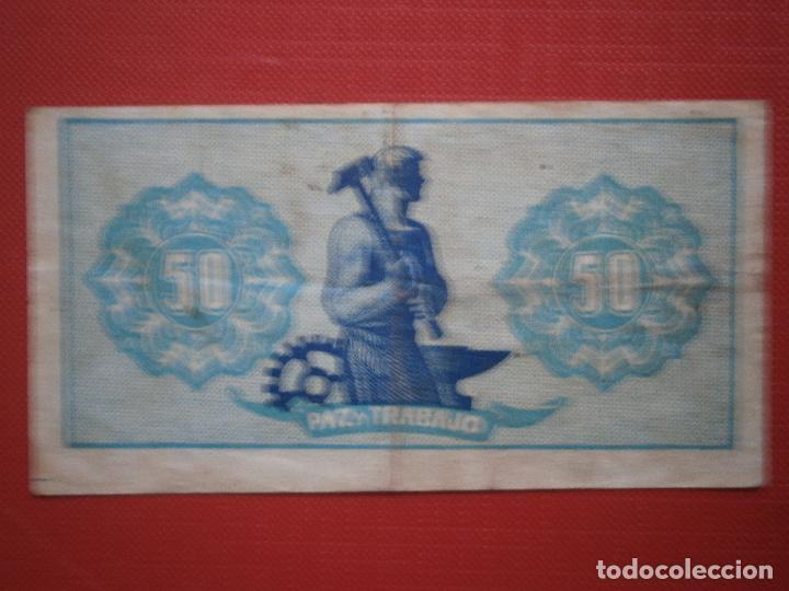 Billetes españoles: Consejo de Asturias y Leon 25-40-50 Centimos 1 y 2 Pesetas Juego Completo Raro Ver Fotos - Foto 8 - 30333843