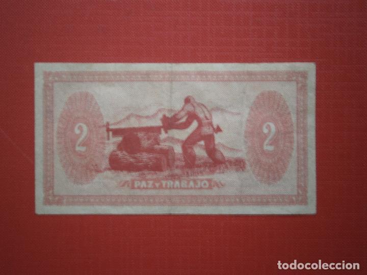 Billetes españoles: Consejo de Asturias y Leon 25-40-50 Centimos 1 y 2 Pesetas Juego Completo Raro Ver Fotos - Foto 12 - 30333843