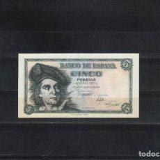 Billetes españoles: BILLETE DE 5 PTAS, EL CANO, 1948 SIN CIRCULAR, PERFECTO. . Lote 97279523