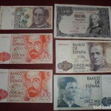 Billetes españoles: MAGNIFICOS 58 BILLETES ANTIGUOS MIRAR FOTOS,SALIDA 1 EURO. Lote 98778075