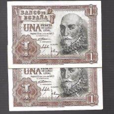 Billetes españoles: BILLETES DE ESPAÑA FRANCO . Lote 100642987