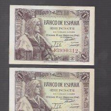 Billetes españoles: BILLETES DE ESPAÑA FRANCO . Lote 100643911