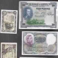 Billetes españoles: BILLETES DE ESPAÑA FRANCO . Lote 100644967