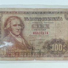 Billetes españoles: BILLETE 100 PESETAS 1948. Lote 101533006