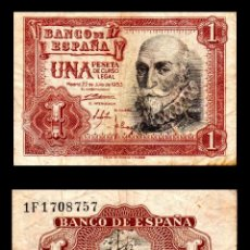 Billets espagnols: ESPAÑA 1 PESETA 1953 BC. Lote 103195695