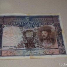 Billetes españoles: 1000 PESETAS 1 JULIO DE 1925. Lote 105126403