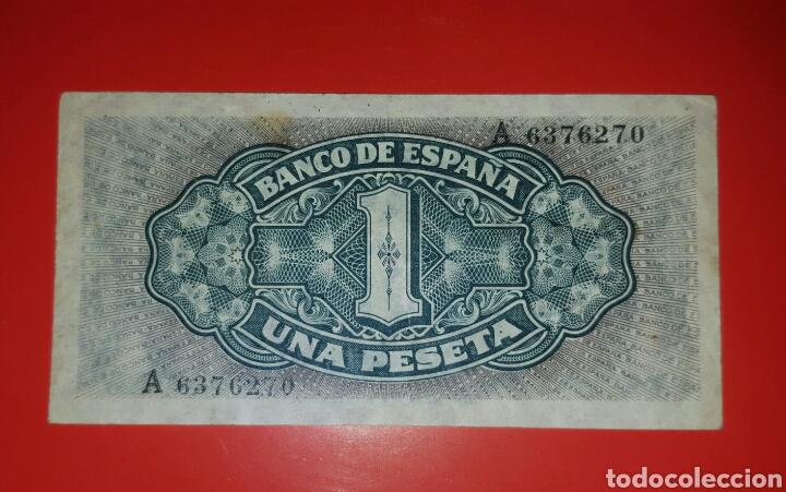 Billetes españoles: Billete España 1 Peseta 1940 EBC - Foto 2 - 104340707