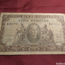 Billetes españoles: CIEN PESETAS 1940. Lote 107567784