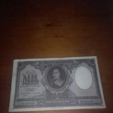 Billetes españoles: REPRODUCCIÓN FACSIMIL. MIL PESETA MADRID 9 ENERO 1940 EST24B2 . Lote 107974255