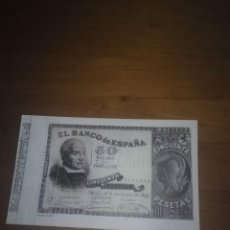 Billetes españoles: REPRODUCCIÓN FACSÍMIL. 50 PESETAS. 1898. EST24B2. Lote 107997595