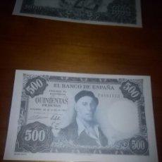 Billetes españoles: REPRODUCCIÓN FACSÍMIL. 500 PESETAS. 1954. EST24B2. Lote 107999607