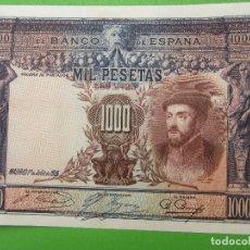 Billetes españoles: BILLETE DE 1000 MIL PESETAS 1925 , BUENA CONSERVACION. Lote 108909879