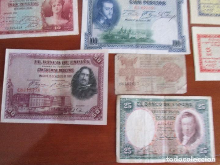 Billetes españoles: 11 billetes españoles VEAN FOTOS Y DESCRIPCION - Foto 2 - 108989531