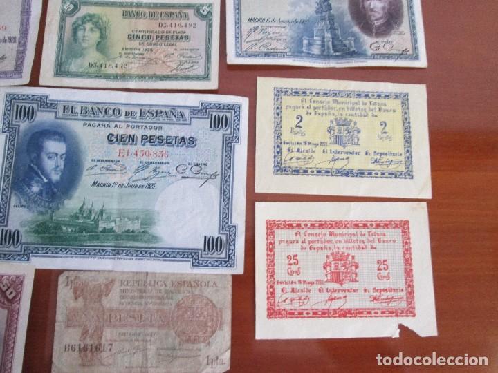 Billetes españoles: 11 billetes españoles VEAN FOTOS Y DESCRIPCION - Foto 3 - 108989531