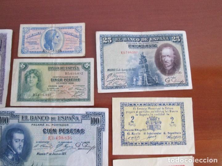 Billetes españoles: 11 billetes españoles VEAN FOTOS Y DESCRIPCION - Foto 5 - 108989531