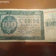 Billetes españoles: BILLETE 100 PESETAS BURGO 1936. Lote 109007995