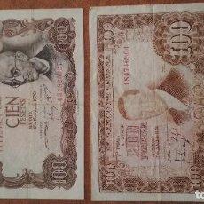 Billetes españoles: BILLETE DE 100 PESETAS DE 1953. Lote 109158007