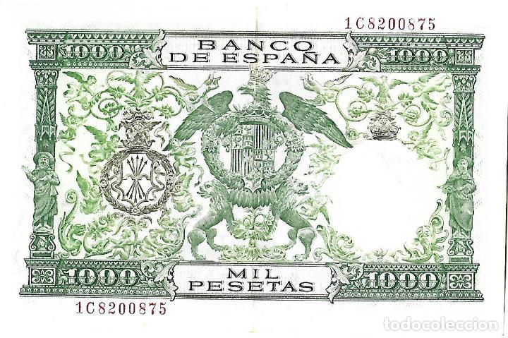 Billetes españoles: BANCO DE ESPAÑA BILLETE DE 1000 PESETAS 1957 REYES CATOLICOS MBC-SEMI PLANCHA - Foto 2 - 109170711