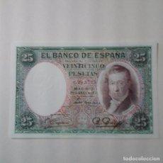 Billetes españoles: ESPAÑA BILLETE DE 25 PTAS. E/ DEL 25.04.1931--- SIN SERIE Y BC. Lote 109230535
