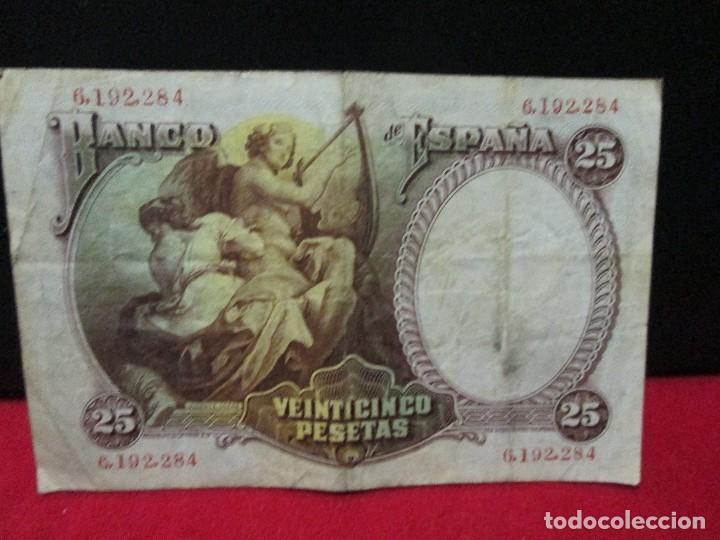 Billetes españoles: 25 PESETAS 1931 BC - Foto 2 - 112464687