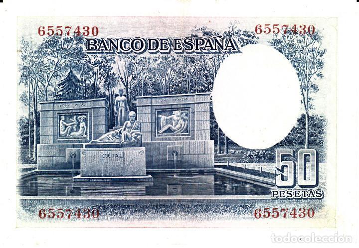 Billetes españoles: BILLETE BANCO DE ESPAÑA .- 50 PESETAS 1935 - Foto 2 - 112630715