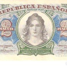 Billetes españoles: BILLETE DE ESPAÑA DE 2 PESETAS DE 1938 CIRCULADO REPÚBLICA ESPAÑOLA. Lote 112712819