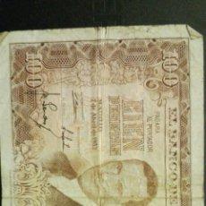 Billetes españoles: BILLETE DE 100 PESETAS BANCO DE ESPAÑA 1953. Lote 113345992