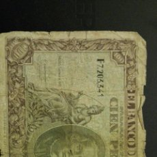 Billetes españoles: BILLETE 100 PESETAS 1940. Lote 113347095