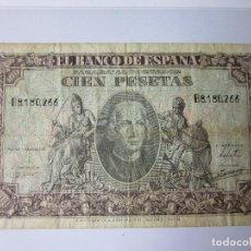 Billetes españoles: CIEN PESETAS 1940. COLÓN.. Lote 115704719