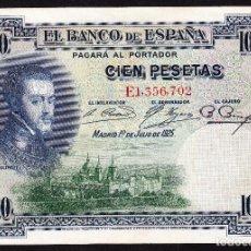 Billetes españoles: 100 PESETAS (1/JULIO/1925)-SERIE E. Lote 115731899