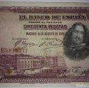 Billetes españoles: BILLETE CINCUENTA 50 PESETAS 1928 SERIE E. Lote 117471907