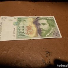 Billetes españoles: BILLETE DE MIL PESETAS. Lote 118695979