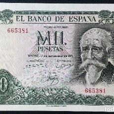 Billetes españoles: CMC 1000 PESETAS 17 SEPTIEMBRE 1971 ECHEGARAY SIN SERIE SIN CIRCULAR. Lote 119279639