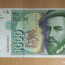 Billetes españoles: BILLETE DE MIL PESETAS SERIE 4Q PLANCHA. Lote 119993371