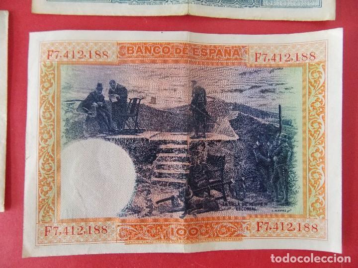 Billetes españoles: LOTE 6 BILLETES REPUBLICA ESPAÑOLA - 10 , 25, 50, 100 PESETAS - CALIDAD MBC - (VER FOTOS)... R-9230 - Foto 13 - 121338743