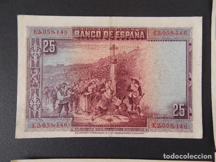 Billetes españoles: LOTE DE 4 BILLETES REPUBLICA ESPAÑOLA - CALIDAD MBC+ - VER 10 FOTOS.... R-9235 - Foto 4 - 121430087