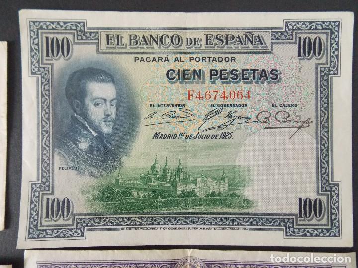 Billetes españoles: LOTE DE 4 BILLETES REPUBLICA ESPAÑOLA - CALIDAD MBC+ - VER 10 FOTOS.... R-9235 - Foto 7 - 121430087