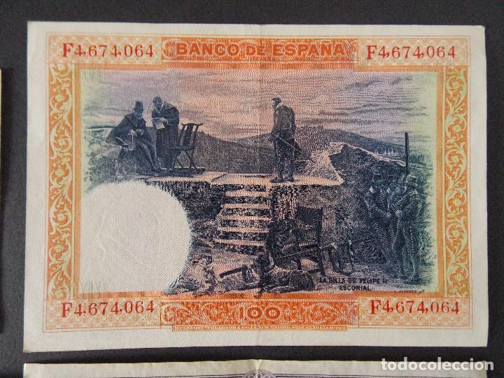 Billetes españoles: LOTE DE 4 BILLETES REPUBLICA ESPAÑOLA - CALIDAD MBC+ - VER 10 FOTOS.... R-9235 - Foto 8 - 121430087