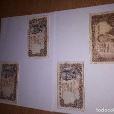 Billetes españoles: LOTE DE 4 BILLETES DE 100 PESETAS. Lote 121579535