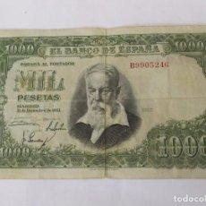 Billetes españoles: BILLETE DE 1000 PESETAS DE 1951 (SERIE B) - JOAQUÍN SOROLLA. Lote 124205699