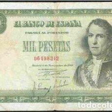 Billetes españoles: 1000 PESETAS DE 1949. Lote 126076203
